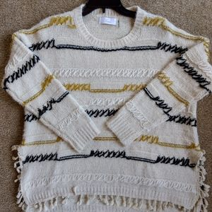 Brave Fringe Sweater from Evereve